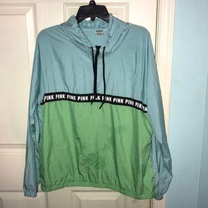 PINK Rain jacket!